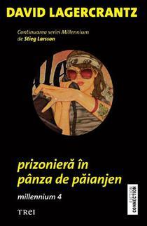 Prizoniera in panza de paianjen, de Stieg Larsson David Lagercrantz
