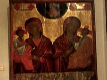 Maica Domnului cu pruncul, muzeul Arhiepiscopiei din Cipru