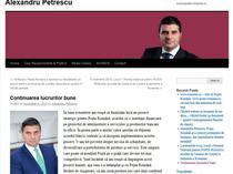 Alexandru Petrescu si-a anuntat pe blog plecarea din Posta