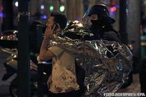 Imagine dramatica din Paris dupa atacurile de vineri