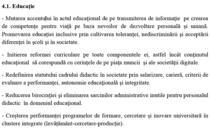 Programul de guvernare pe educatie al Guvernului Ciolos