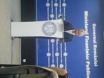 Eugen Teodorovici, la ultima conferinta de presa ca ministru de Finante