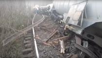 Tren deraiat in judetul Brasov