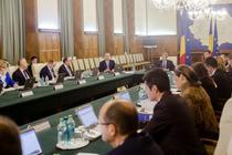Vasile Dancu, la prima sedinta a Guvernului Ciolos