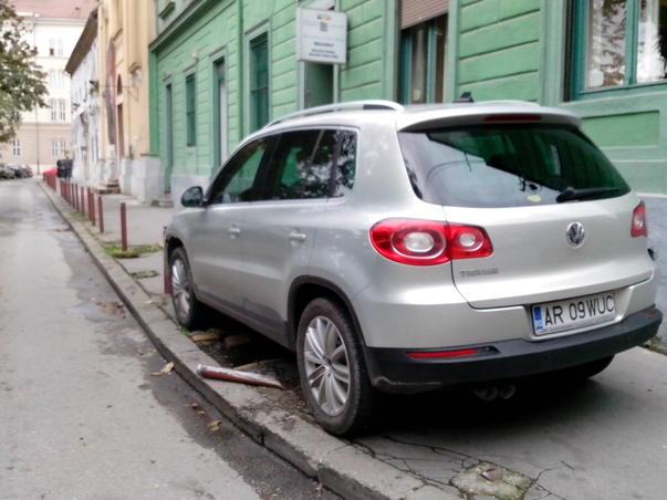 Parcarea în Timișoara