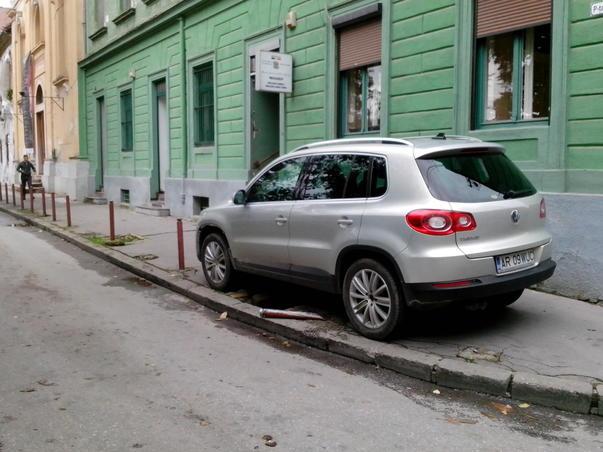 Parcarea în Timișoara. (2)