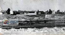 1950 - asa arata groapa unde s-a construit stadionul Dinamo