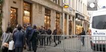 Filtre ale politiei pe strazile din Bruxelles