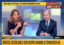 Traian Basescu, la Romania TV