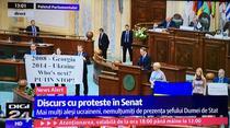 Nariskin, discurs in Parlamentul Romaniei