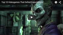 Top 10 Jocuri video care au intrecut asteptarile publicului