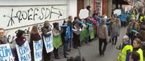 Lant uman contra schimbarilor climatice in Paris