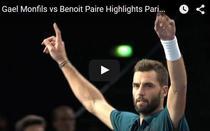 Benoit Paire, victorie superba contra lui Gael Monfils