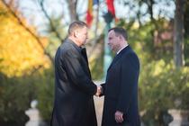 Intalnire Klaus Iohannis - Andrzej Duda