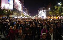 Cel mai mare protest din Bucuresti