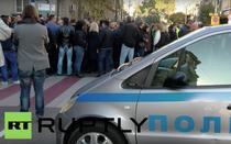 Proteste ale politistilor bulgari