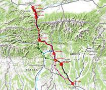 Traseele propuse pentru A1 Pitesti - Sibiu