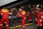 Cele două victime ale exploziei din judeţul Mureş, transferate la Bruxelles, cu o aeronavă MApN