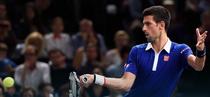 Novak Djokovic, la Masters-ul de la Paris