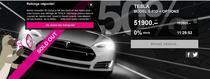 Tesla Motors, la jumatate de pret