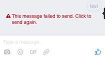 Probleme cu chat-ul Facebook