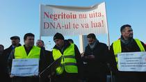Protest impotriva cresterii tarifelor RCA