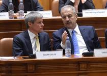Premierul Ciolos si ministrul Dezvoltarii, Vasile Dancu