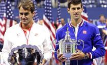 Roger Federer si Novak Djokovic