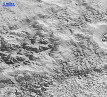 Suprafata planetei Pluto