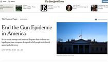 Editorial NY Times, pe prima pagina a versiunii tiparite