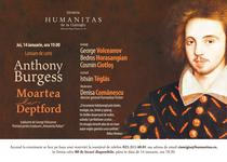 "Anthony Burgess: Moartea la Deptford"""