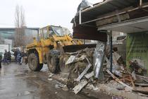 Demolare chioscuri Piata Sudului