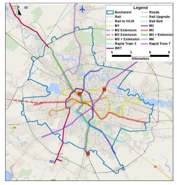 Strategia De Transport Pentru Bucuresti Ilfov Pe Urmatorii 15