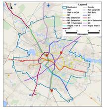 Harta transport public PMUD