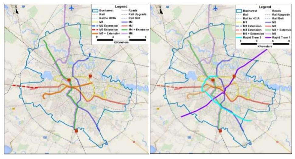 Strategia de transport pentru Bucuresti - Ilfov pe urmatorii