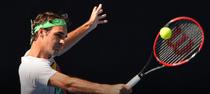 Roger Federer, pe Rod Laver Arena