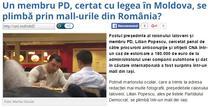 Fost sef de raion din R. Moldova, cautat de autoritati, ar fi fost vazut in Iasi