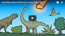 Cate extinctii in masa au avut loc de la inceputul timpurilor