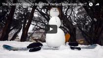 Metoda stiintifica pentru a face un om de zapada perfect
