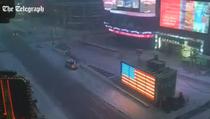 Furtuna Jonas, peste New York