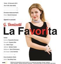 """LA FAVORITA"" cu Ruxandra Donose"