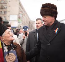 Klaus Iohannis, la manifestarile de Ziua Unirii