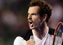 Bucuria lui Andy Murray