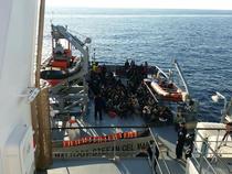 119 migranti, salvati in Meditera de o nava romaneasca