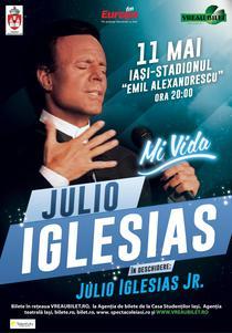 Julio-Iglesias in concert pe 11 mai, la Iasi