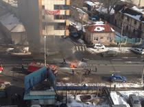 FOTOGALERIE Incendiu pe Calea Plevnei