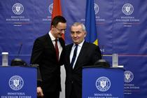 Peter Szijjarto si Lazar Comanescu
