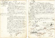 Contractul nuptial al lui Napoleon