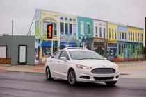 Ford Fusion autonom