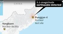Coreea de Nord ar fi testat o bomba cu hidrogen